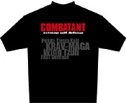 combatant extreme self defense t-shirt